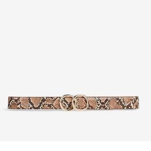Snakeskin double O-ring belt